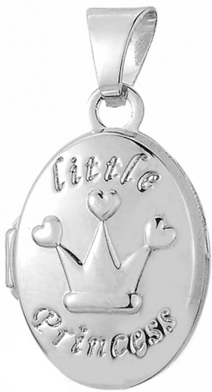Kinderschmuck Taufkette Medaillon little Princess